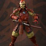 Tamashii Nations Manga Realization Steel Samurai Iron Man action figure, pulling sword