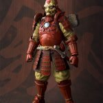 Tamashii Nations Manga Realization Steel Samurai Iron Man action figure, front view