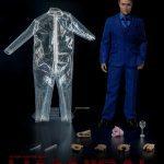 ThreeZero Sixth Scale Hannibal Lecter action figure, face sculpt