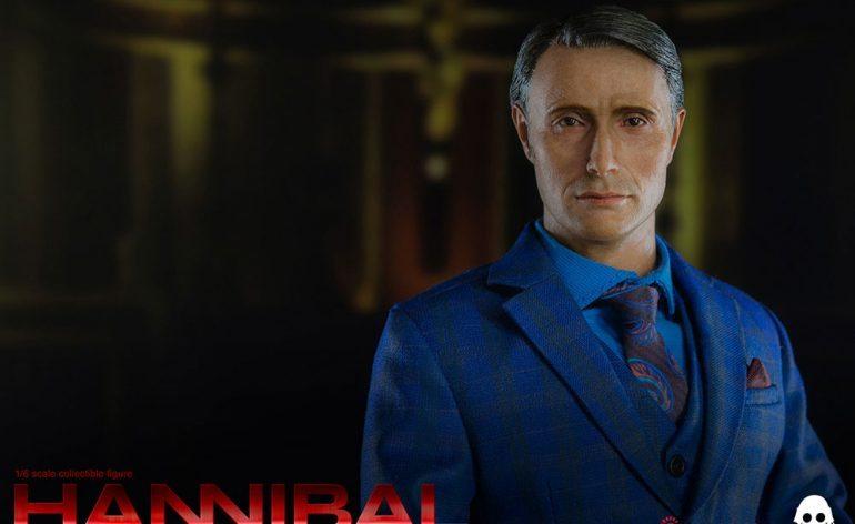 ThreeZero Sixth Scale Hannibal Lecter action figure