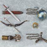 Figma Legend of Zelda Twilight Princess action figures, Link DX version accessories