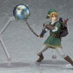 Figma Legend of Zelda Twilight Princess action figures, Link with claw ball