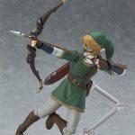 Figma Legend of Zelda Twilight Princess action figures, Link with bow