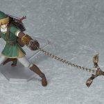 Figma Legend of Zelda Twilight Princess action figures, Link with claw shot