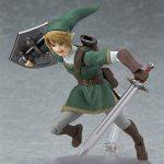 Figma Legend of Zelda Twilight Princess action figures, Link with sword, running