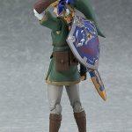 Figma Legend of Zelda Twilight Princess action figures, Link with shield on back