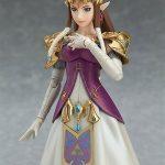 Figma Legend of Zelda Twilight Princess action figures, Zelda posed