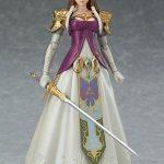 Figma Legend of Zelda Twilight Princess action figures, Zelda with sword