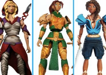 Velara Warriors: Daughters of the Light action figures