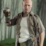 ThreeZero Sixth Scale The Walking Dead Merle Dixon action figure, bayonet arm pose