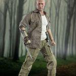 ThreeZero Sixth Scale The Walking Dead Merle Dixon action figure, posed
