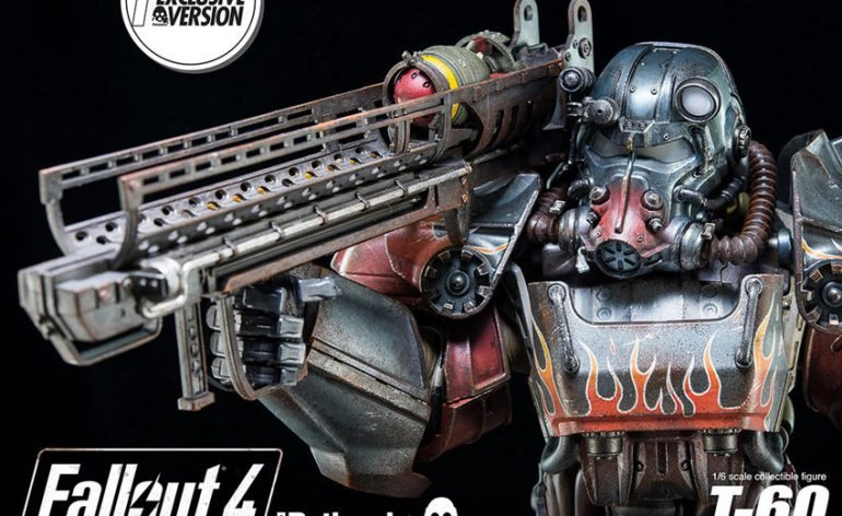 ThreeZero Fallout 4 T-60 Power Armor action figure