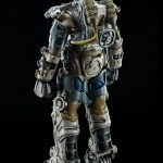 ThreeZero Fallout 4 T-60 Power Armor action figure, exo-skeleton