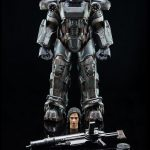 ThreeZero Fallout 4 T-60 Power Armor action figure, accessories for regular version