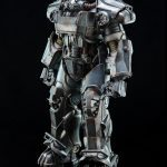 ThreeZero Fallout 4 T-60 Power Armor action figure, regular version pose