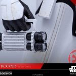 Hot Toys Sixth Scale Rogue One Jedha Patrol Stormtrooper action figure, torch accessory