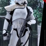 Hot Toys Sixth Scale Rogue One Jedha Patrol Stormtrooper action figure, standing
