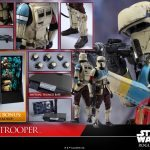 Hot Toys Sixth Scale Rogue One Shoretrooper action figure, accessories