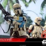 Hot Toys Sixth Scale Rogue One Shoretrooper action figure, move out pose