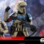 Hot Toys Sixth Scale Rogue One Shoretrooper action figure, hold here pose