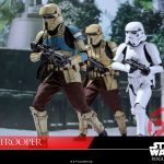 Hot Toys Sixth Scale Rogue One Shoretrooper action figure, running