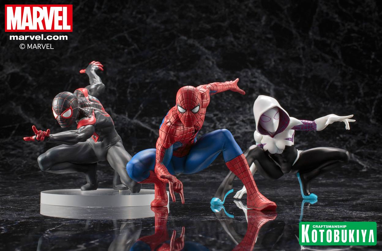kotobukiya-artfx-spider-gwen-statue-collection