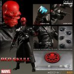 Mezco Toyz One:12 Collective Red Skull action figure, accessories