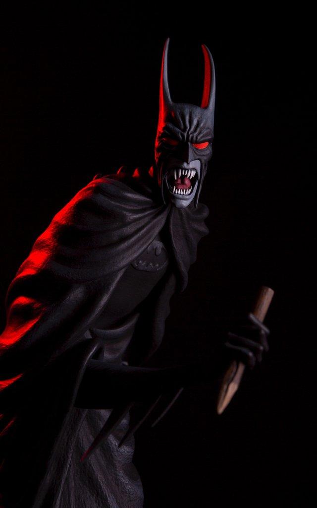 Batman Red Rain Statue By Mondo Mondo-Batman-Red-Rain-Statue-Exclusive-stake