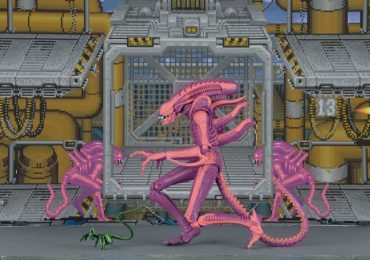 NECA Xenomorph Warrior Arcade version action figure