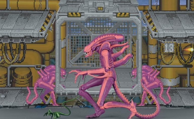 NECA Xenomorph Warrior Arcade version action figure