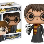 Funko Harry Potter Pop figures, Harry with Hedwig