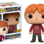 Funko Harry Potter Pop figures, Ron with Christmas Sweater