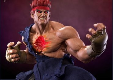 Pop Culture Shock Street Fighter IV Evil Ryu Statue