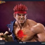 Pop Culture Shock Street Fighter IV Evil Ryu Statue, front view