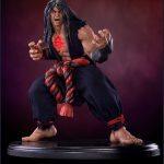 Pop Culture Shock Street Fighter IV Evil Ryu Statue, Dark Hado version, front view