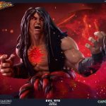 Pop Culture Shock Street Fighter IV Evil Ryu Statue, Dark Hado version