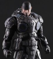 Square Enix Play Arts Kai Gears of War 3 Marcus Fenix action figure