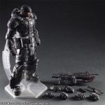 Square Enix Play Arts Kai Gears of War 3 Marcus Fenix action figure, accessories