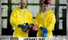 ThreeZero's Breaking Bad Walter and Jesse Hazmat Suit 2-Pack Is Here
