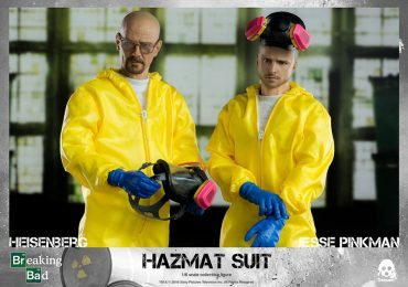 ThreeZero Breaking Bad Walter and Jesse Hazmat Suit 2-Pack Walter White and Jesse Pinkman action figures, working