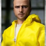 ThreeZero Breaking Bad Hazmat 2-Pack Walter White and Jesse Pinkman action figures, Jesse face sculpt