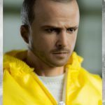 ThreeZero Breaking Bad Hazmat 2-Pack Walter White and Jesse Pinkman action figures, Jess face sculpt