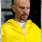 ThreeZero Breaking Bad Hazmat 2-Pack Walter White and Jesse Pinkman action figures, Walter face sculpt