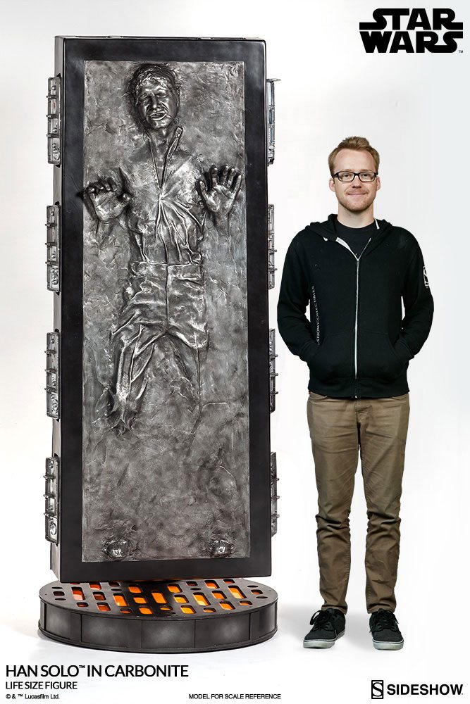 Sideshow Collectibles Han Solo in Carbonite Life Size figure