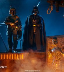 Into the Carbonite, Flyboy! New 1/6 Scale Figure by Sideshow Collectibles