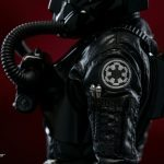 Sideshow Collectibles Sixth Scale Rogue One Tie Fighter Pilot action figure, costume detail