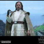 Hot Toys Sixth Scale Star Wars: The Force Awakens Luke Skywalker action figure, medium shot