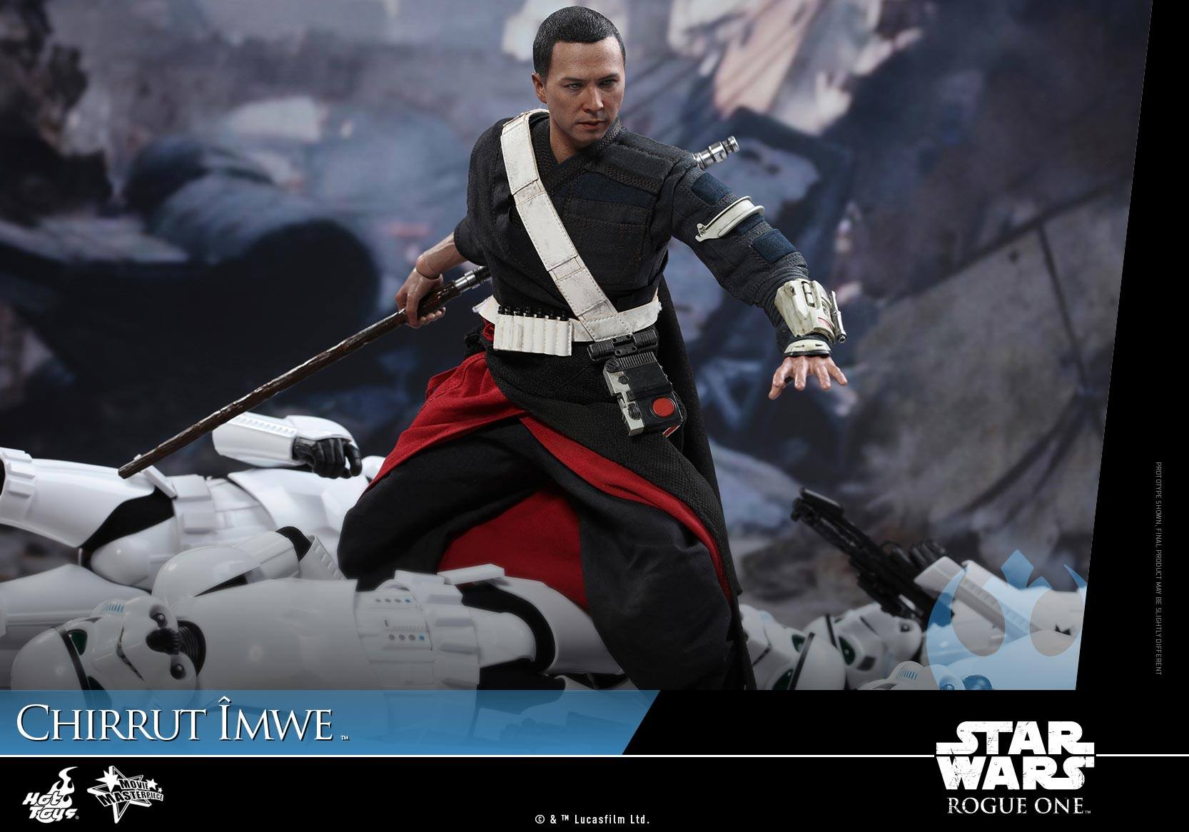 Rogue One Hot Toys Chirrut Imwe action figure