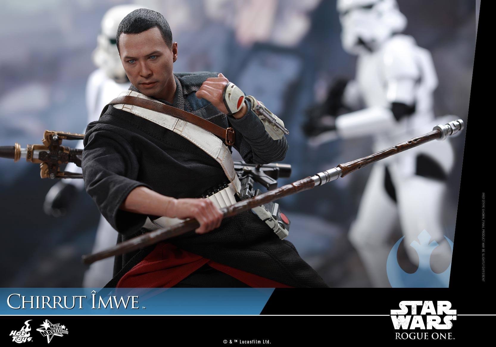 Rogue One Hot Toys Chirrut Imwe action figure