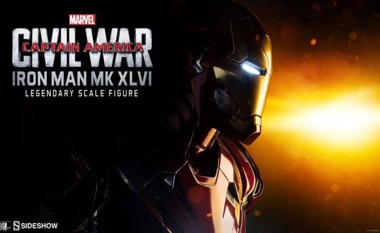 Legendary Format Iron Man Statue from Sideshow Collectibles